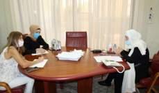 الحريري تابعت في إتصال مع الحلبي مطالب المعلمين بالتعليم الرسمي