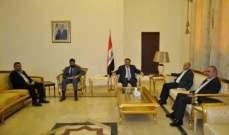 وفد من الاتحاد العمالي زار السفارة العراقية: مساعدات الطحين حافظت على استقرار سعر الخبز لـ3 أشهر