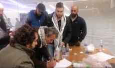 إنتهاء حادثة المصرف في حلبا بعد إصابة المودع بوعكة صحية وحصوله على أمواله