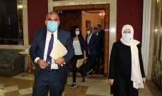 الحريري تابعت مع مدير عام النقل بالتكليف موضوع استكمال منشآت مرفأ صيدا