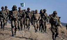 الجيش الباكستاني أعلن مقتل عشرة من جنوده في هجومين منفصلين