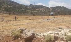 النشرة: قوة اسرائيلية مشطت الطريق العسكري انطلاقا من محور الوزاني