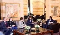 الحريري استقبل ريتشارد وسفير أرمينيا وبهية الحريري