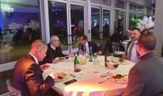 جمعية بيت مار شربل بفرنسا تقيم عشاءها السنوي بحضور افراد الجالية اللبنانية
