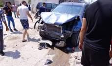 النشرة: إصابات في حادث سير مروع على الخط البحري في عدلون