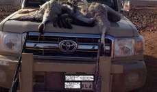 """سعوديان يرتكبان جرم """"صيد جائر"""" عند الحدود الأردنية – السورية"""