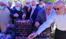 النمر خلال افتتاح سوق المزارع للخضار والفاكهة في بعلبك: الزراعة هي بوابة حل المشكلات الاجتماعية