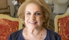 رئاسة الجمهورية: لا صحة للمعلومات عن اصابة اللبنانية الاولى ناديا الشامي عون بالكورونا