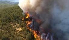 الحرائق المستمرة في ليتوانيا تلتهم ألف هكتار من الغابات حتى الان