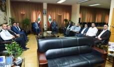 عثمان إستقبل وفدا من الجومة وعرمون وعشائر العرب ورئيس مؤسسة العرفان