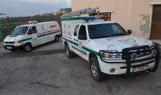 جمعية الرسالة للإسعاف الصحي – الدفاع المدني تسلم سيارة اسعاف الى بلدة بستات