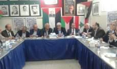 لقاء الأحزاب وتحالف القوى الفلسطينية أشادوا بالتصدي للجيش الاسرائيلي بغزة