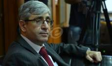 النشرة: صدور مرسوم يقضي باحتفاظ المجذوب بوظيفته كقاضٍ طوال مدة تعيينه وزيرا
