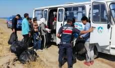 ضبط 73 مهاجرا غير شرعي في شمال غربي تركيا
