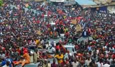 الآلاف في غينيا شاركوا بمسيرات احتجاجا على مساعي الرئيس للترشح لولاية ثالثة