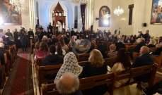 القادة الروحيون الارمن أقاموا صلاة مشتركة على نية لبنان في كنيسة القديس وارطان