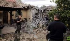 صواريخ غزة تلحق دمارا بمستوطنات محيطة فيه