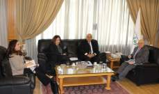 وزير العمل التقى مسؤولين من منظمة العمل الدولية والبنك الدولي