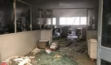 انفجار قارورة غاز في مطبعة بالمدينة الصناعية بجسر الباشا