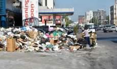 رئيس بلدية الغبيري يعلن البدء بإزالة النفايات من الشوارع بعد اضراب عمال سوكلين
