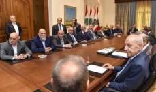 بري بلقاء الاربعاء: المجلس النيابي سيبقى الحصن المنيع ضد أي إنقسام