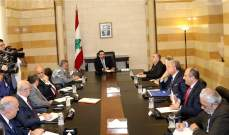 الحريري ترأس اجتماع لجنة تطبيق قانون الانتخاب واستقبل أرسلان وزاسبكين
