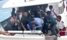 رئيس المالديف يقيل وزير الدفاع بعد انفجار في قاربه