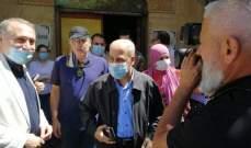 خير تفقد ورئيس بلدية بيروت الاضرار في اللعازارية ورياض الصلح