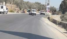النشرة: وقوع حادث سير بين سيارتين على طريق عام الحاصباني كوكبا