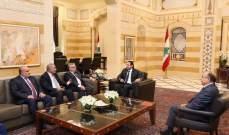الحريري استقبل وفدا من مؤتمر فلسطينيي الخارج ولقاء مجلس الشباب اللبناني وفوشيه