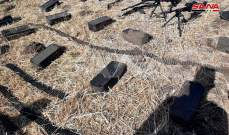 سانا: العثور على أسلحة وذخائر بعضها غربي المنشأ من مخلفات الإرهابيين بريف القنيطرة الجنوبي