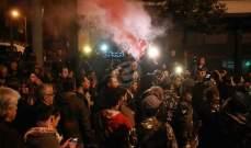 اشكال بين عدد من الشبان في ساحة رياض الصلح في وسط بيروت