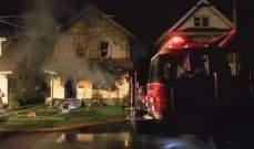 وفاة 5 أطفال في حريق بدار رعاية في ولاية بنسلفانيا الأميركية