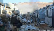 النشرة: الجيش يداهم مخيمات النازحين في عرسال ويوقف سوريين ولبناني