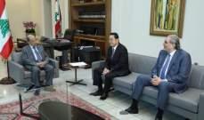 الرئيس عون عرض مع سفير اليابان للعلاقات اللبنانية- اليابانية
