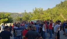 اعتصام لأهالي الحواكير والبلدات المجاورة احتجاجا على اختيار مطمر النفايات بمنطقتهم