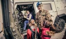 أطفال من رعية صفد البطيخ والعباسية يزورون الكتيبة الايطالية باليونيفيل