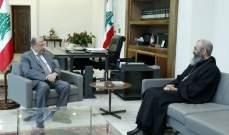 الرئيس عون هنّأ قوى الامن الداخلي في عيدها: لمواكبة العمل على مكافحة الفساد وتحقيق النهوض