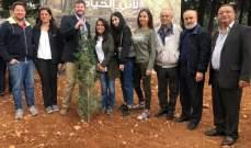 جمعية التحريج نظمت زرع 5000 غرسة بالقرب من سد القرعون بالتعاون مع USAID