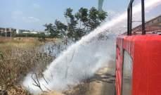 النشرة: عناصر اطفاء صيدا اخمدوا حريقي اشجار وهشير الول في بلدة عنقون