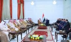 عبد المهدي: سياسة العراق تركز على المشتركات الكثيرة مع السعودية وجميع دول الجوار