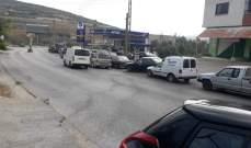 النشرة: عودة طوابير السيارات أمام محطات المحروقات في حاصبيا