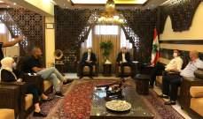 ضو اطلع على  المشاكل التي تواجهها بلديات شرق صيدا بتنفيذ قرار الاقفال