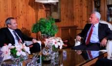 فرنجية استقبل السفير البريطاني في لبنان وعرض معه التطورات السياسية الراهنة