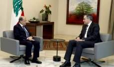 """مصادر لـ""""النشرة"""": اللقاء بين عون وأديب لم يتطرق الى التركيبة الحكومية ولا الى عدد الوزراء"""