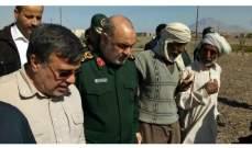 سلامي أعلن استعداد الحرس الثوري الإيراني لبناء وحدات سكنية لمنكوبي السيول