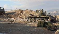 """النشرة: الجيش السوري استهدف """"النصرة"""" بريف القنيطرة بالرشاشات الثقيلة"""