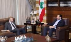 باسيل: طرحت على الحريري عدة أفكار ولن نعدم وسيلة لتشكيل الحكومة وسأستكمل اتصالاتي