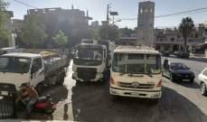 اضراب عمال بلدية الهرمل بسبب تردي أوضاعهم المعيشية