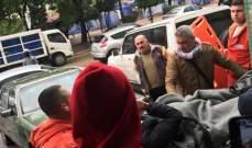 النشرة: القوى الأمنية تمنع عددا من المحتجين من الدخول الى أحد المصارف بصيدا